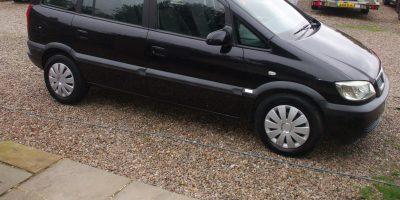 Vauxhall Zafira 2.0 DTi 16v Design 5dr