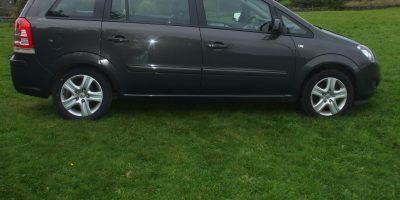 Vauxhall Zafira 2012 (62 reg) 1.6 16V Exclusive 5dr